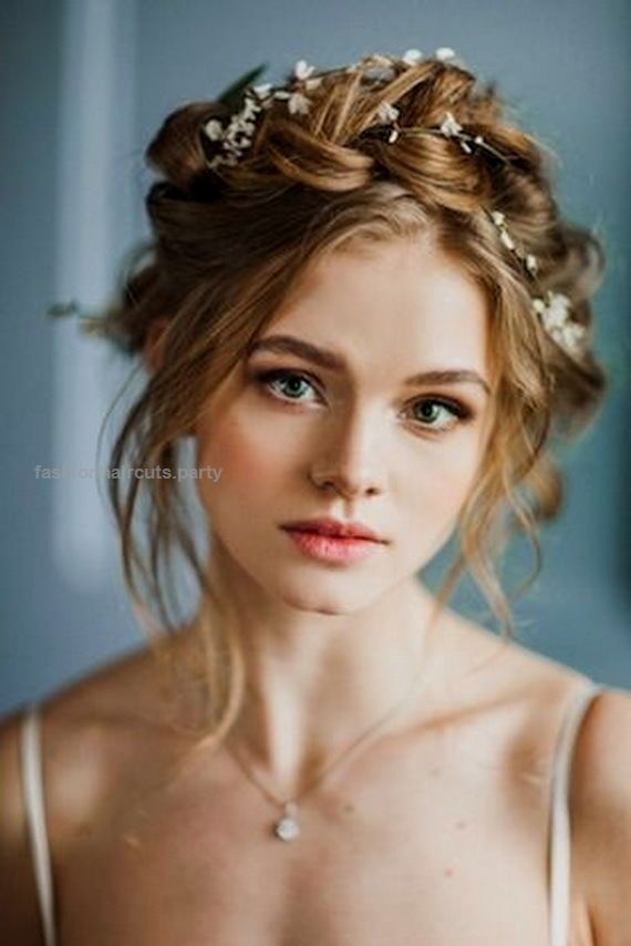 10 Flower Crown Hairstyles for Any Bride Milkmaid braids are always a win for boho brides. This flower crown hairstyle would look gorgeous in any forest wedding..  http://www.fashionhaircuts.party/2017/05/08/10-flower-crown-hairstyles-for-any-bride/