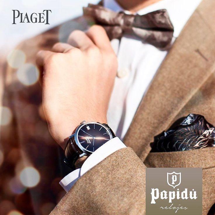 Papá sí merece el mejor regalo. Reloj de 43 mm con 18k de oro blanco #Piaget. Adquiérelo en #JoyeriaPapidu. #WatchCollector #ExclusivoPapidu #Luxury #LuxuryWatch #PapiduRelojes #PapiduTiempo #watchgeek #watches #watchoftheday #instawatch #watchmaking #craftmanship #watchaddict #watchlover #dailywatch #horology #fathersday #papá