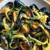 Mussels are by far the main shell fish that we eat in Naples, therefore, as you can imagine, I have grown up eating mussels in many different ways. Of course traditionally we would never use double cream, but for this particular dish it works perfectly. If you buy saffron strands instead of the powder, please …