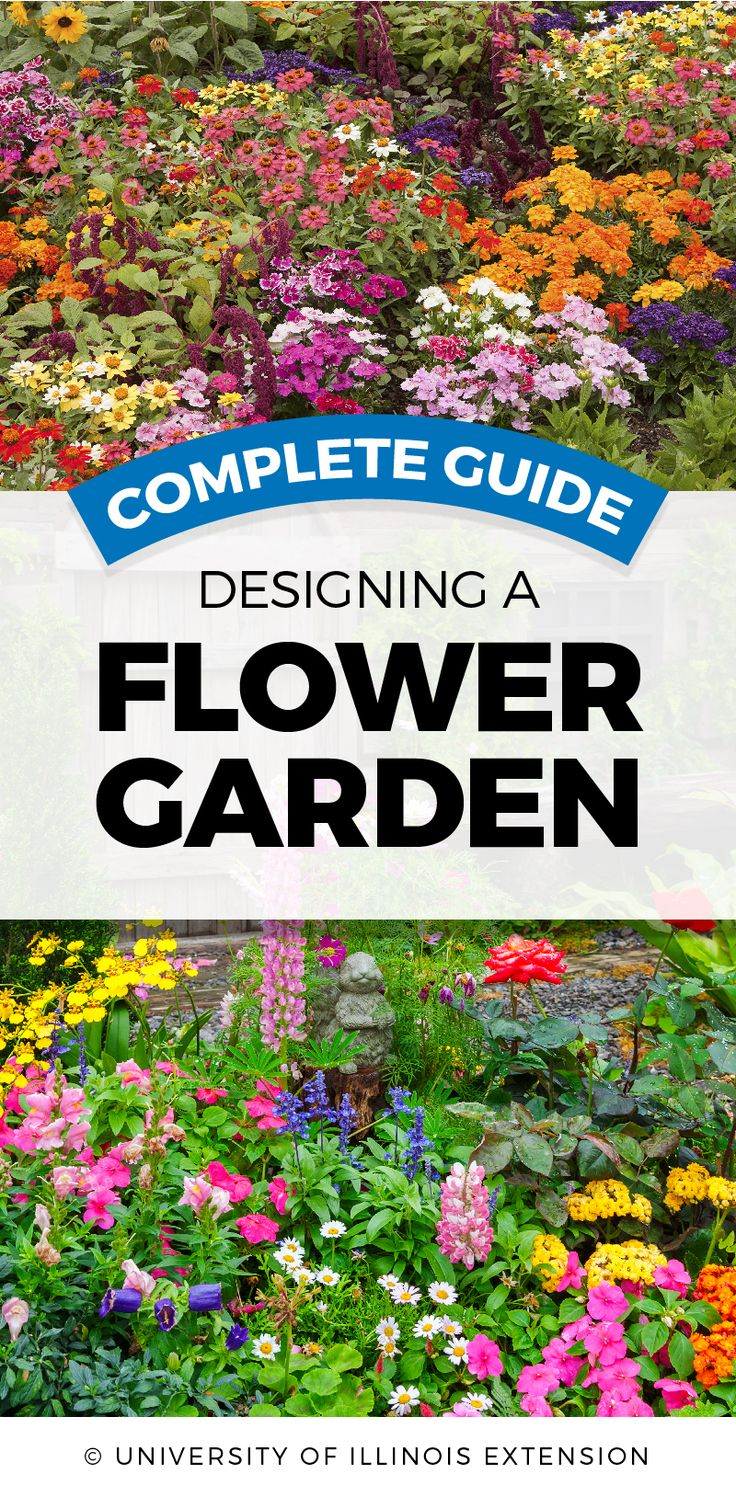 Great resource! Designing a Flower Garden - Complete Guide