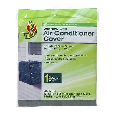 AIR CONDITIONER COVER STANDARD SIZE WINDOW UNIT 27x18x 25 (DUCK brand) *NEW*