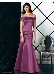 bridesmaid dress satin
