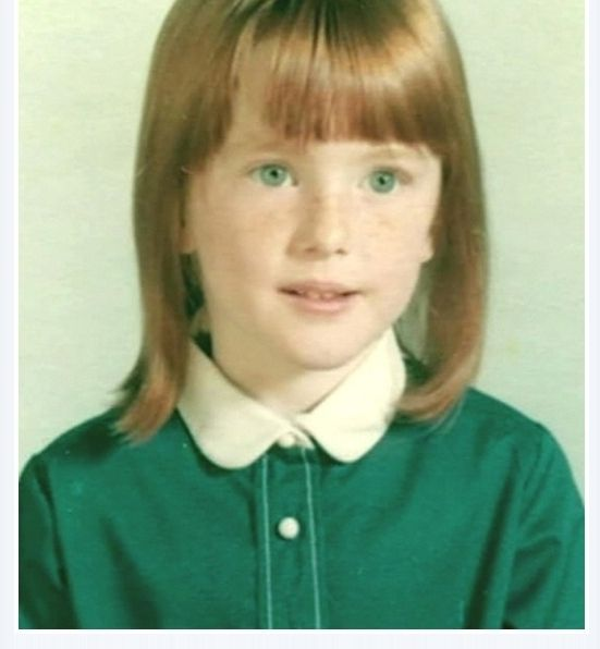 Julianne Moore as a child