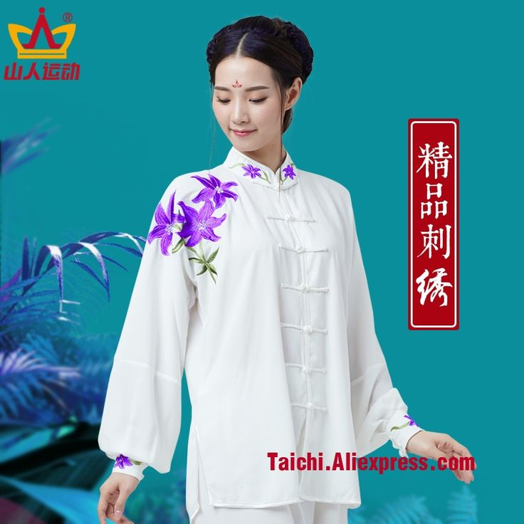 69.90$  Buy here - http://alij7r.shopchina.info/1/go.php?t=32810571904 - Embroidery Tai Chi Uniform Woman Kung Fu,martial Art Suit Chinese Stlye Sportswear  #magazine