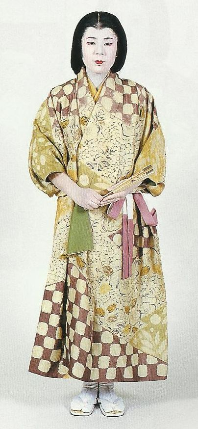 """Scan K1: Scan from book """"The History of Women's Costume in Japan."""" Scanned by Lumikettu of Flickr. Exacting recreation of Japanese costume many centuries ago…"""