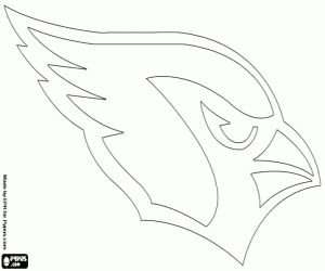 Coloriage Logo de Arizona Cardinals