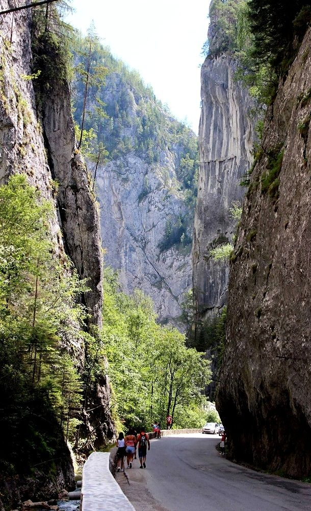 Cheile Bicazului (Bicaz Gorge), Eastern Carpathians, Romania   by Dan F