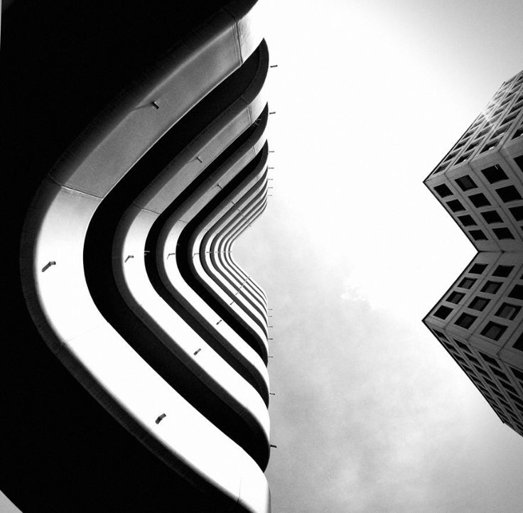 buildings black and white noir et blanc