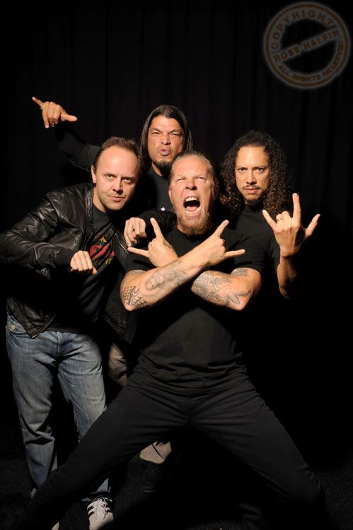 Metallica- It was an honor seeing them Live in concert. Despite having a hot dog w/ Ketchup & mustard thrown in my hair = Rock & Roll baby- Great Times