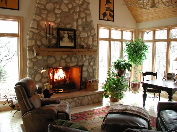 12 best images about home hearth room on pinterest for House plans with hearth room