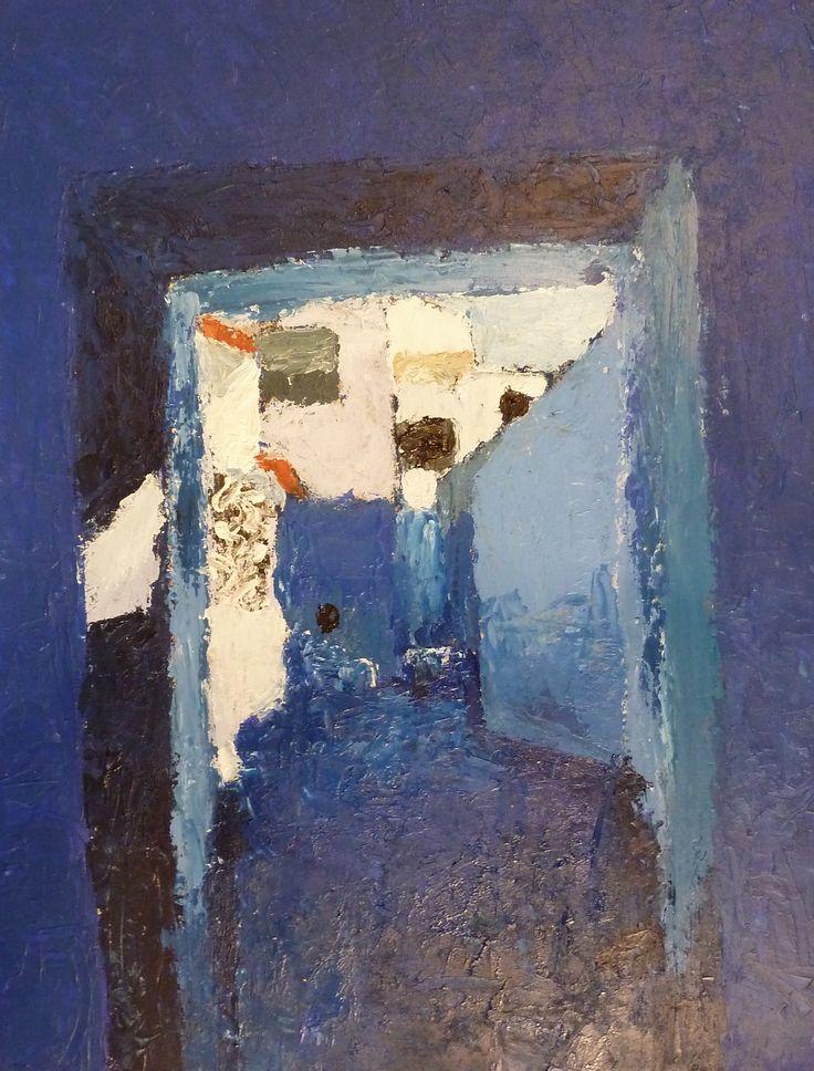 Eric Migom. Light. Verwijzing naar abstracte vormgeving bij middel van straat als onderwerp.