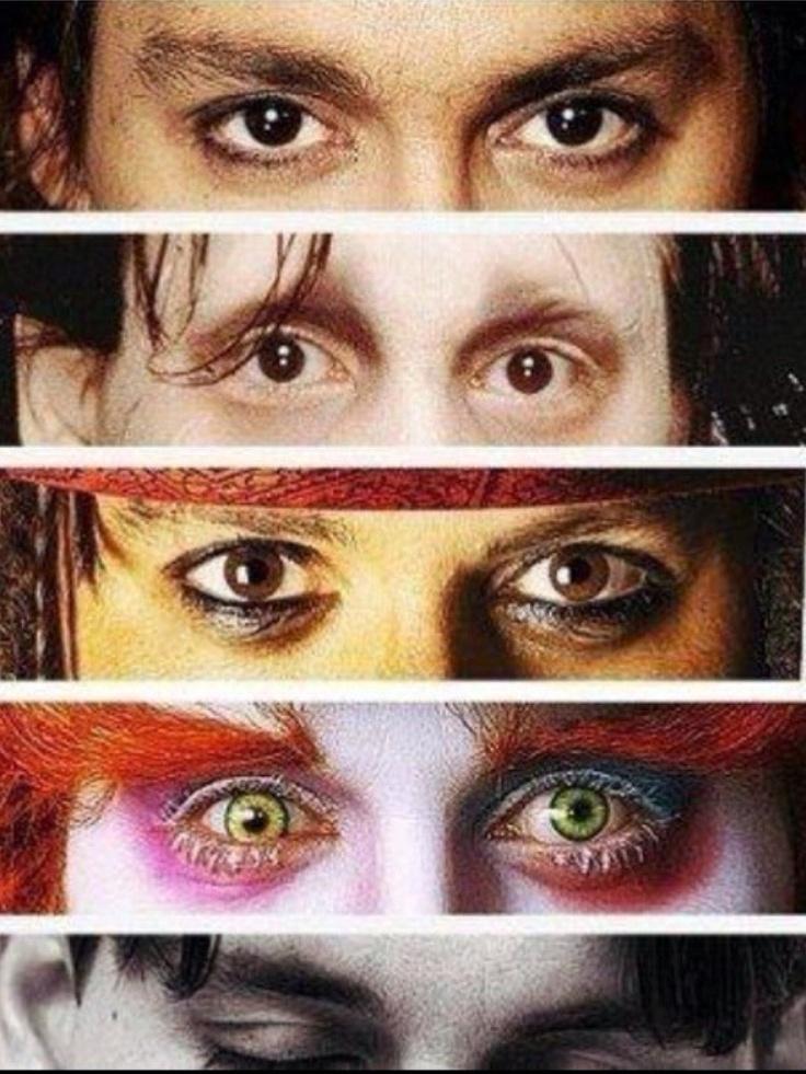 The Many Eyes Of Johnny Depp.