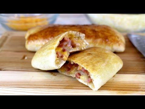 How to Make Homemade Hot Pockets | Easy Recipes - YouTube [homemade pizza crust instead?]