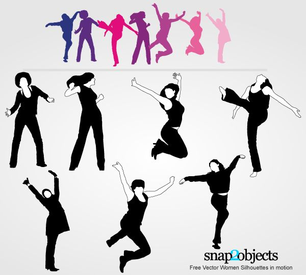 Zumba silhouette png