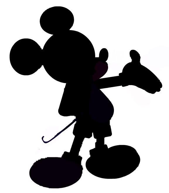 Mickey silhouette - Imagui