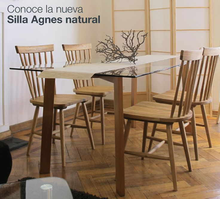 Silla Agnes el mueble ideal para tus ambientes de madera natural.