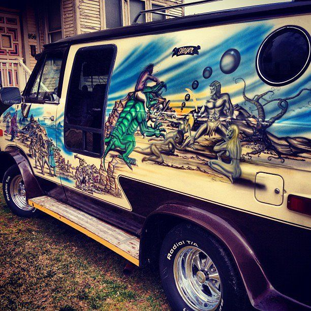 708 best old school custom show vans interiors images on pinterest beautiful cars and art van. Black Bedroom Furniture Sets. Home Design Ideas