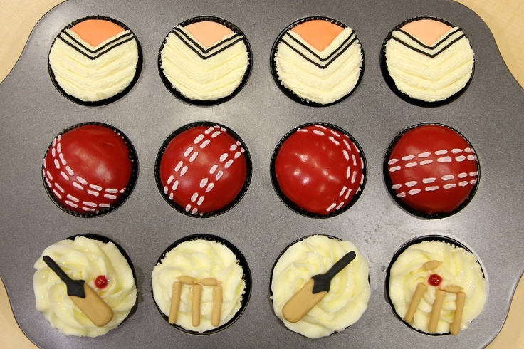 Cricket cupcakes by CupcakeWoman