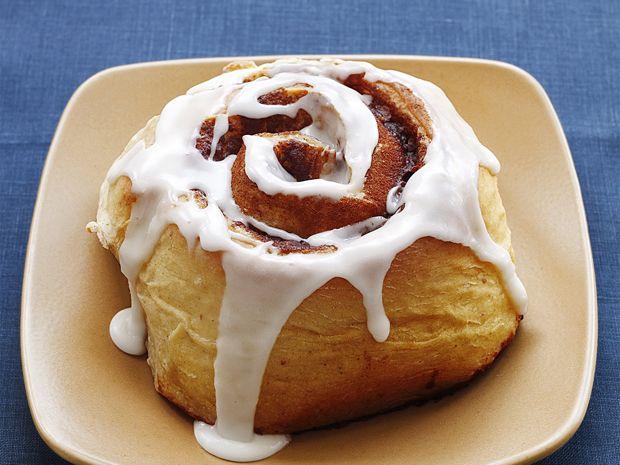 Almost-Famous Cinnamon Buns Recipe : Food Network Kitchen (Cinnabon copycat recipe)