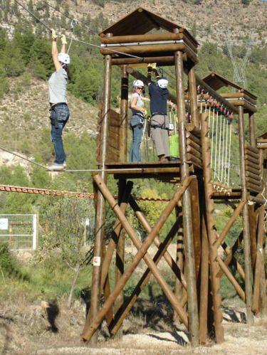 #Campamento del Club de #Ajedrez Excálibur en el Complejo Turístico y Multiaventura #Contreras, junto a las Hoces del Cabriel, en #Minglanilla #Cuenca http://www.campamentos.info/viewproperty/campamento-de-ajedrez/485/es-ES