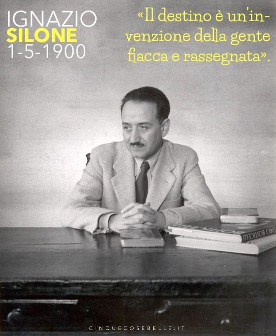 115 anni dalla nascita di Ignazio Silone