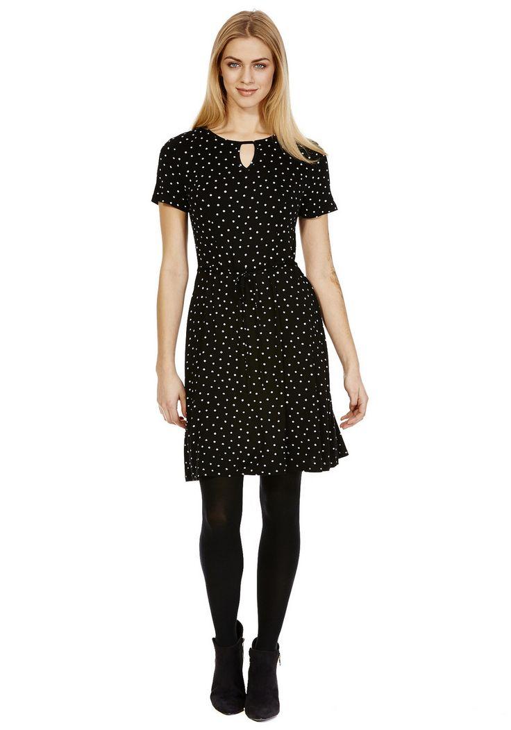 Clothing at Tesco | F&F Tall Spot Print Jersey Tea Dress > dresses > Tall > Women