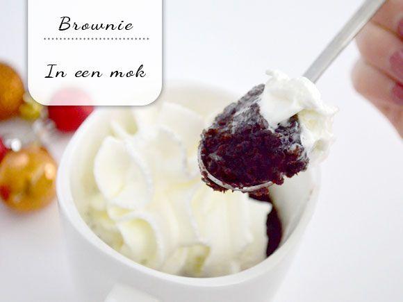 Video: Brownie in een mok - My Simply Special