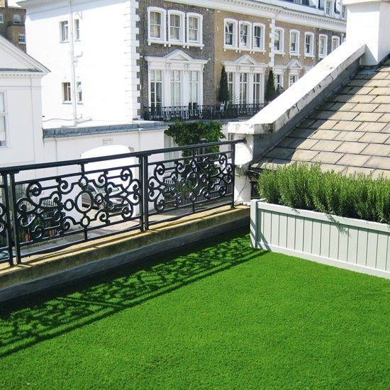 Roof Terrace Garden Design: Artificial Grass For Roof Terrace