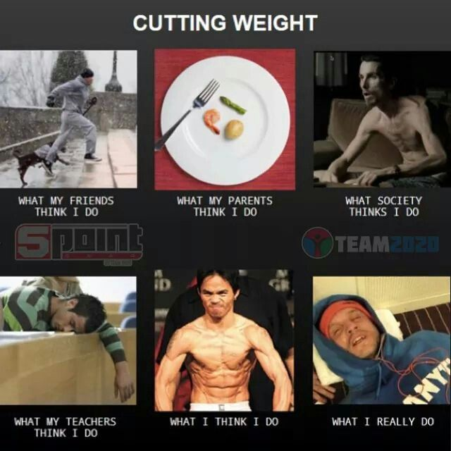 how to cut weight for wrestling overnight