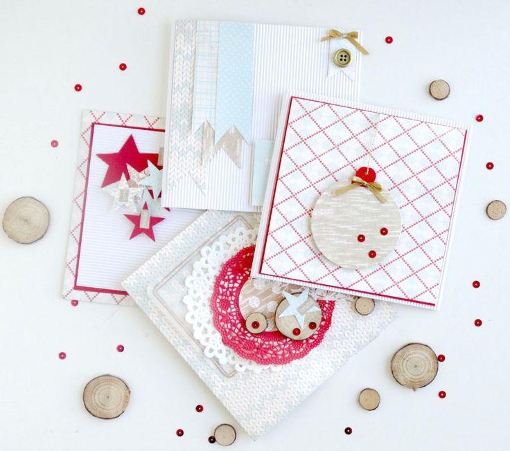 Poniéndome al día: tarjetas navideñas