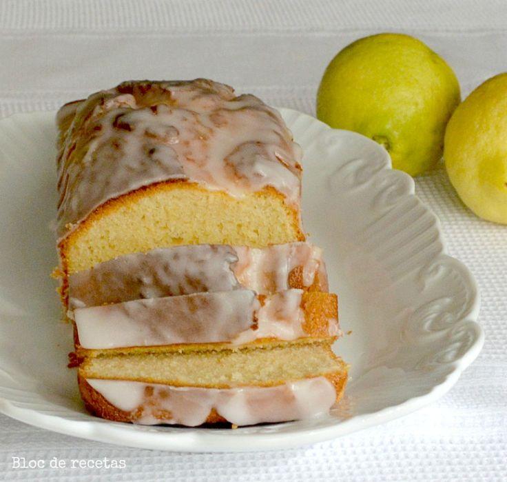 Bloc de recetas: Bizcocho de limón con glaseado en la panificadora