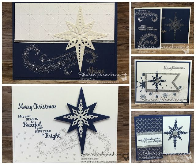 TxStampinSharon: Stamping Inspiration Let's Make Some Cards! | Star of Light