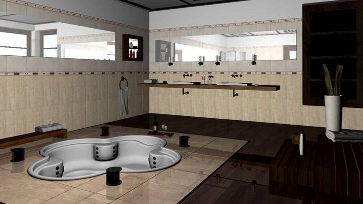 3D Modelleme banyo