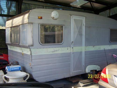caravan 60s retro 14 foot original