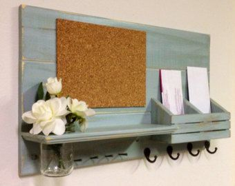Shabby Chic Nautical Beach Cottage Entryway Dry Erase Board