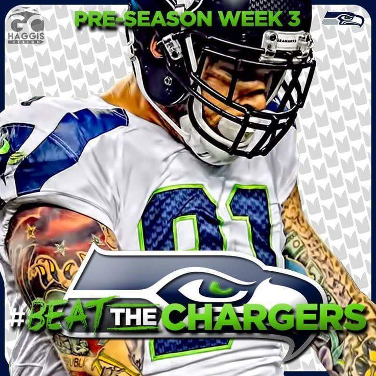 #PreSeasonWeek3 #NFL #Seahawks #BeatTheChargers #ItsOurTime #WeGotThis #12s #TheRoadToSB50  #GoHawks