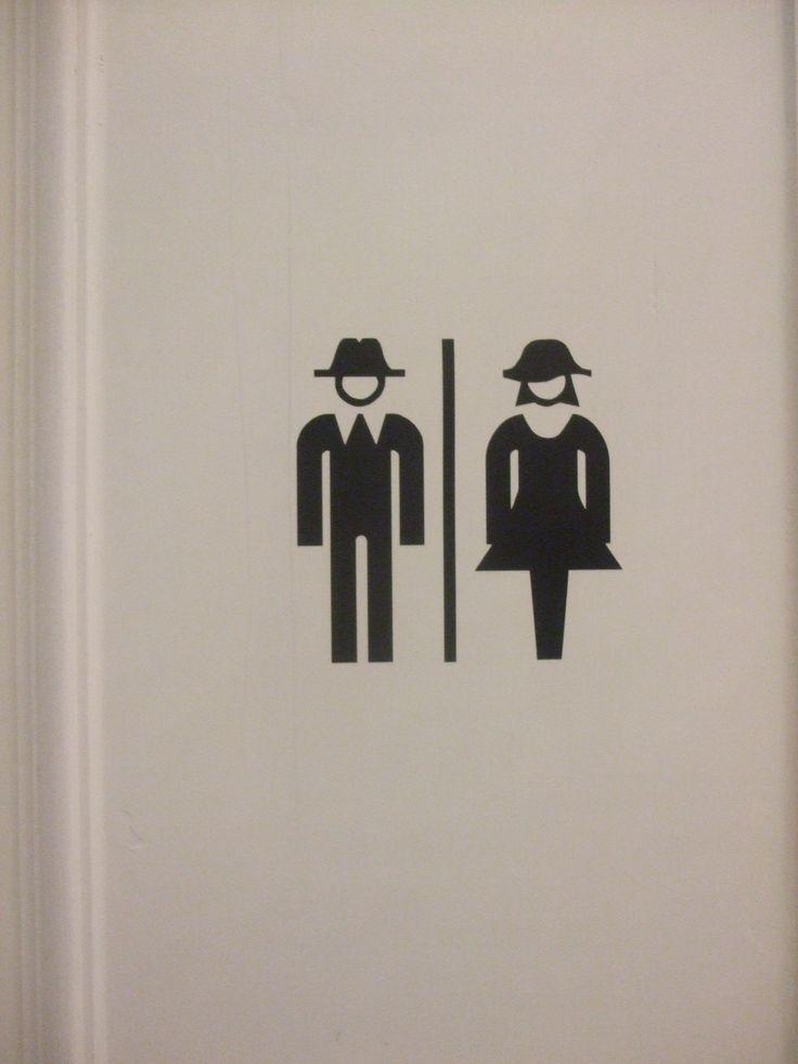 toilet -sign