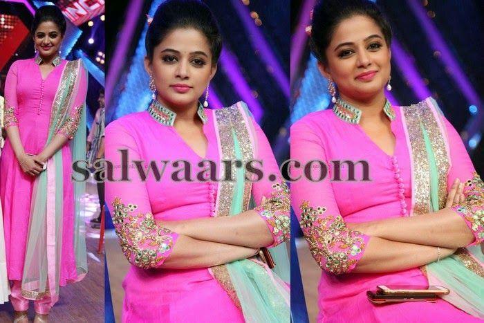 Priyamani Mirror Work Churidar - Indian Dresses