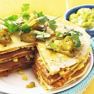 Tortillataart met guacamole - Recept - Allerhande - Albert Heijn