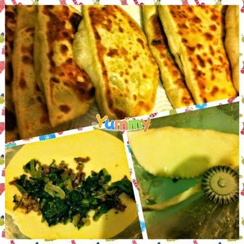 Hayal Alemi: Ispanaklı kıymalı tava çöreği