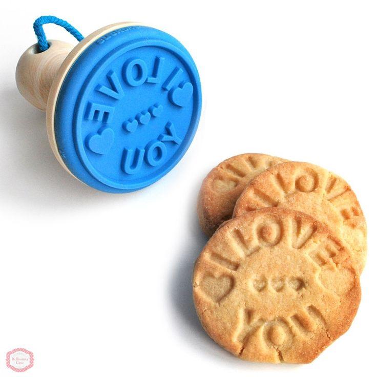 Формочки для печенья, Штамп для печенья I Love You