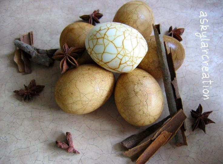 tea eggs | Chinese Tea Eggs