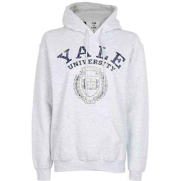 Yale Hoodie By Tee U0026 Cake ($43) ❤ Liked On Polyvore Featuring Tops,