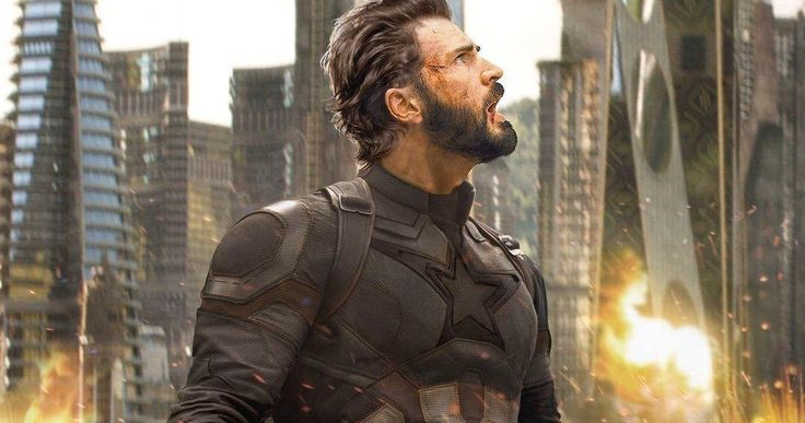 Captain America's New Shield Revealed in Infinity War -- A Captain America action figure from Infinity War features a new shield with Wakandan technology. -- http://movieweb.com/infinity-war-movie-captain-america-new-shield-toy/