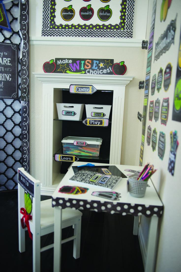Upscale Classroom Decor ~ Best images about theme chalk it up on pinterest
