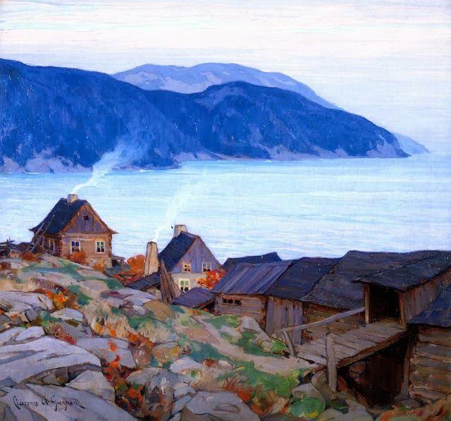 Clarence Gagnon (1881 – 1942) Katherine, 1904 Last Rays, la Piazzetta, Venice 1905 On the Rialto, Venice, 1911 ...