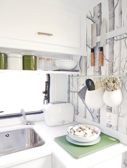 Small Space Design: 5 Tips from a Tiny Trailer