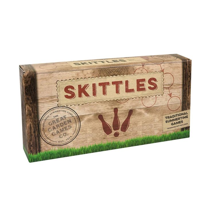 This outdoor wooden skittles set is the perfect game to show off your aiming, throwing and knocking-over skills. Great for the park or games in the garden, a fun opportunity for families and friends to compete on a level playing field!