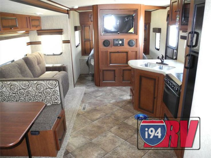 Travel Trailers Rv Interior And Campers On Pinterest