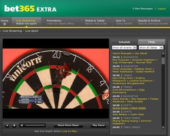These are screenshots of Live Streaming Darts Matches on Bet365. To get full access to Watch Live Darts matches, simply Sign Up and deposit £10 or 10 Euros.